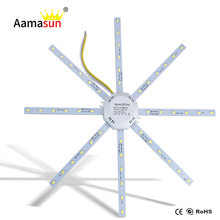 LED Light Board LED Celling Lamp 5730SMD 12W/16W/20W/24W Super Bright octopus Round Kitchen Lamp Bedroom Light Energy Saving