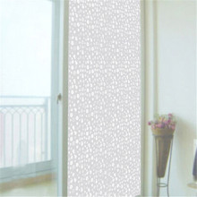 45x90cm Frosted Glass Window Sticker Film Flower Cover Home Office Privacy Home Decoration