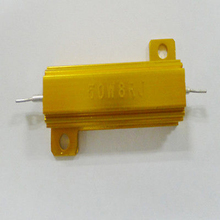 8 Ohm 8R 50W Watt  Aluminum Power Metal Shell Case Wirewound Resistance Resistor 5% new in selling