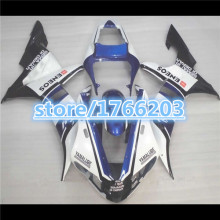 YZF R1 03 02 fairings for YAHAMA  YZF-R1 02-03 YZFR1 2003 2002 YZF1000 R1 03 02 fairing kits blue white black