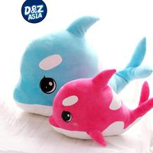 Cute pet plush dolphin stuffed whales stuffed doll child pillow gifts wholesale baby toys