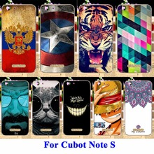 Cell Phone Shell For Cubot Note S Cubot Dinosaur 5.5 Cases Cover Flexible Silicon Housing Skin For Cubot Note S Fundas
