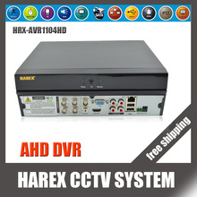 4CH AHD DVR (8CH Optional) AVR Hybrid DVR/720P NVR Video Recorder 4CH Audio In,HDMI Output For AHD CCTV Camera, free shipping