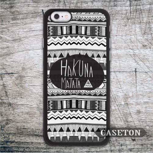 Hakuna Matata On Tribal Aztec font b Case b font For font b iPhone b font