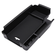 Central Armrest Storage Box Container Holder Tray Accessories Car Organizer Car Styling Fit For Audi A4 B9