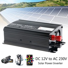 Solar Power Inverter 1000W Peak 12V To 230V Modified Sine Wave Converter for Mini Electric Tools