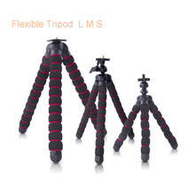 YooCheeseOctopus Tripods Stand Spider Flexible Mobile Mini Tripod Gorillapod For iPhone GoPro Canon Nikon Sony Camera Table Desk(China)