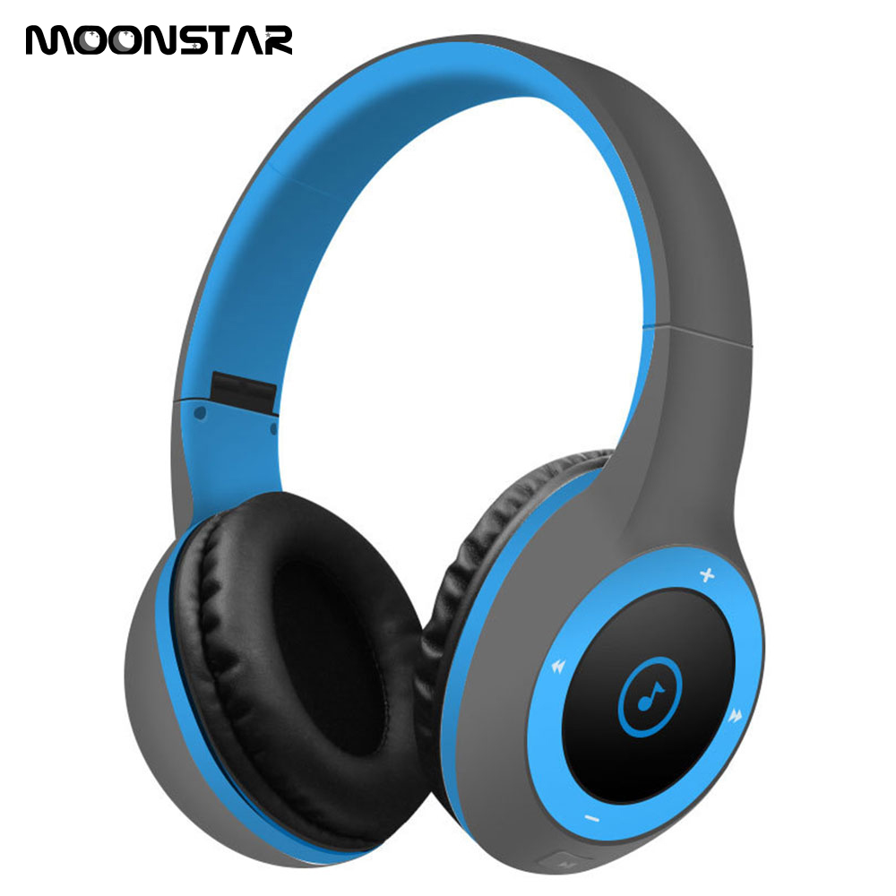 Hot pin StereoFoldable Portable Wireless Bluetooth 4.0 Support TF Card Headphones With High Quality Microphone For IOS Android<br>