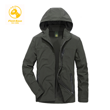 Field Base Autumn Men's Casual Jacket Man's Army Windbreaker Waterproof Fashion Coats Male Jacket Breathable Windproof Overcoat(China)