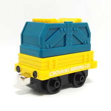 m021 New diecast magnetic Thomas and friend Children's toy train crovans mining co Burning coal transport trucks Limited Edition(China)
