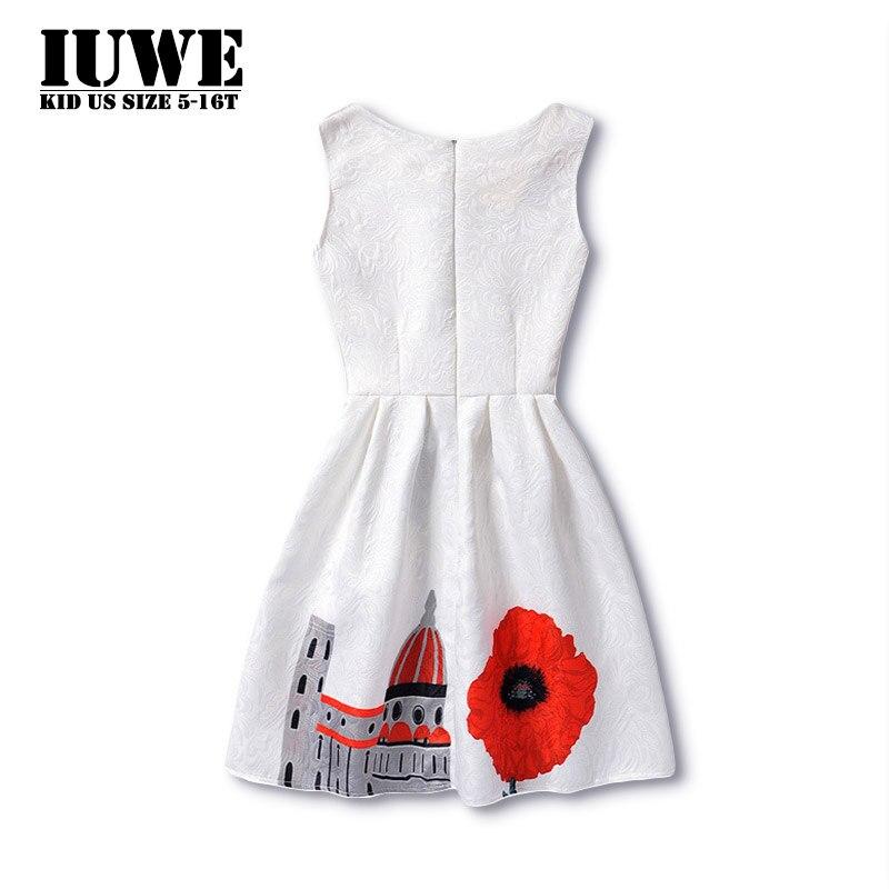 Girl Dress Summer 2017 Dresses For Girls Of 14 Years Sleeveless Big ...