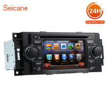 Seicane 5 Inch Car DVD Player for 2002-2008 Chrysler Aspen Concorde Pacifica FM AM Radio Bluetooth GPS Navigation USB AUX 2 DIN(China)