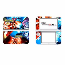 Pokemon Vinyl Cover Decal Skin Sticker for Nintendo New 3DS XL & New 3DS LL Console Skins Stickers
