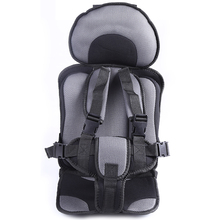 Adjustable Baby Car Seat For 6 Months-5 Years Old Baby, Safe Toddler Booster Seat, Child Car Seats Potable Baby Chair In The Car(China)