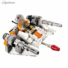 Star Wars Microfighters Series 2 - Snowspeeder Building Block Model Brick toys Compatible Lego