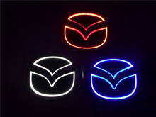 2015 New brightness auto 5D Logo Light mazda led badge sticker lamp led emblem 5d for mazda 6 2 3 8 cx7(China)