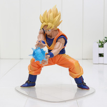 16cm Catoon Dragon Ball Z Super Saiyan Son Goku Gokou Fighting PVC Action Figure Toy Dragon Ball Z figures