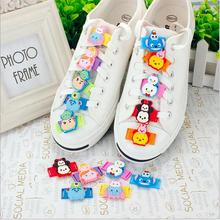 Children's gift   cartoon Childrens Sports Shoes accessories   Cloth shoes sneakers shoes lace buckle