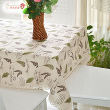 1 Piece Pastoral and Fresh Cotton and Linen Lace Tablecloth/ European Style Tea Table Cloth/ High Quality Decoration Table Cloth