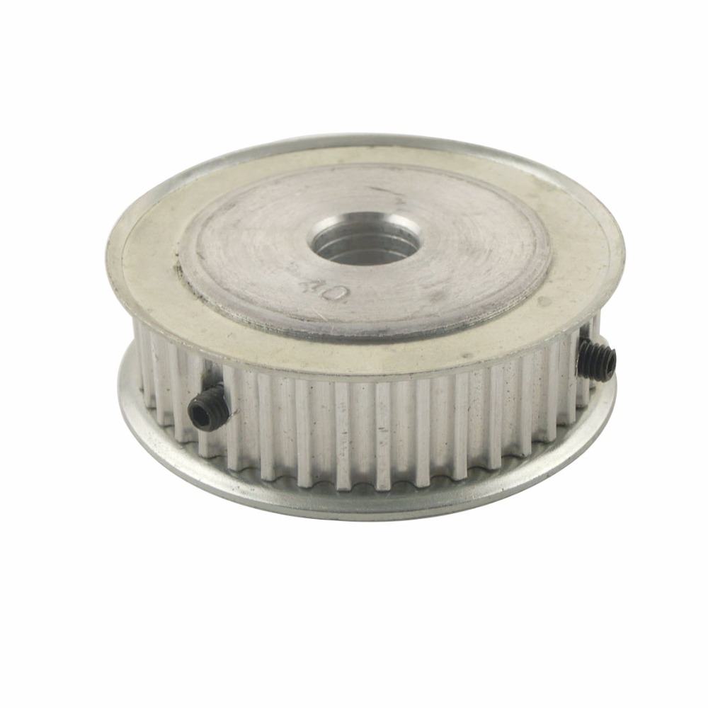 Aluminum Alloy 5M Type 40T 6mm Inner Bore 40 Teeth 5mm Pitch 16mm Belt Width Timing Belt Pulleys<br><br>Aliexpress