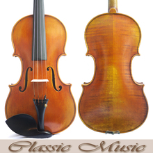 "Handmade Antique Oil Varnish,Stradivarius 1716 ""Messiah"" Copy ,Master Violin, No.2456.European Spruce, Great setup"