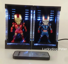 LED Display Stand Action Figure 10CM Remote Control LED Show Stand Doll PVC Material Toy Brinquedos Anime