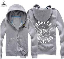 New Men's Hoodies Jacking Cardigan Hooded Jackets