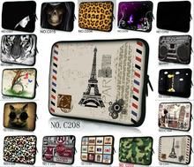 "Stylish Many Designs Soft Sleeve Bag Case Cover Pouch For 7"" inch Tablet PC Android + Case(China)"