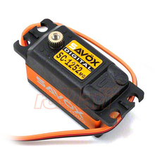 SAVOX Low Profile Super Speed Metal Gear Digital Servo 2WD F1 RC Car #SC-1252MG(China)