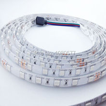 10m/roll 5050 Changeable LED strip RGB Waterproof 24V 600LEDs SMD 5050 Flexible Light Ribbon