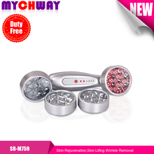 4 Colors LED Skin Rejuvenation Lithium-ion 48 LEDs Skin Liftng Wrinkle Removal red,green,blue,yellow Led photon Device