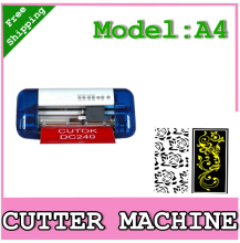 cutok,mini desktop A4 cutting machine DC240,DIY cutting plotter,vinyl cutter ,USB port,best DIY machine,CE certification