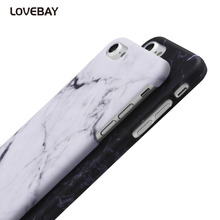 Lovebay Phone Cases For iPhone 5 5s SE Smooth Marble Skin Case For iphone 7 6 6s Plus Stone Hard PC Protective Back Covers Capa