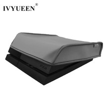 IVYUEEN Gray / Black Soft Dust Proof Neoprene Case Cover for Sony PlayStation PS4 DS 4 Console Sleeve For Horizontal Place(China)