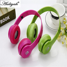Aaliyah New Arriving 3.5mm Beautiful Earphone Pink Headset Dj Headphone For Girls Kids With Mic High Quality