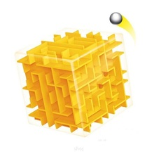 Maze Magic Cube Puzzle 3D Speed Cube Labyrinth Rolling Ball Toys Puzzle Game Cubos Magicos Learning Toys For Kids D