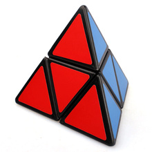 MoZhi 2x2x2 Pyraminx Magic Cube Black 88mm Puzzles Brain IQ Teaser Educational Toys Special Toys