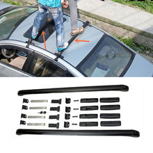 2PCS Aluminum alloy Cross Bar Roof Cargo Luggage Rack ForLexus IS250 2010-2015(China)