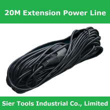 Free Shipping!/20m Extension Power Line/Specialized Power Extension Cord for Electric Lawnmower/SD-1120 20m AC power cord