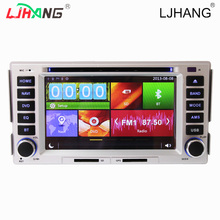 Auto audio Two Din 6.2 Inch Car DVD For HYUNDAI SANTA FE 2006-2012 With GPS Navigation Bluetooth 1080P IPDD Radio FM AM SWC GPS