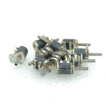 10pcs 2 Phase 4 Wire Mini stepper motor micro stepper motor D6xH7mm with a small division bar for camera