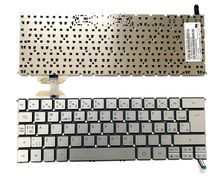 New Genuine Nordic Scandinavian Silver keyboard for Acer Aspire S7-391 S7-392 with Backlit MP-12C56DNJ4421(China)