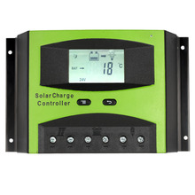 60A 12V/24V intelligent solar panels battery Solar Charge Controller PWM Charging Overload Protection for Solar Off-grid System