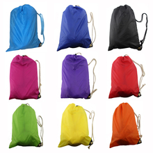 Lazy Bag Laybag Sleeping Bag Fast inflatable hammock Camping Air Sofa Sleeping Beach Bed Banana Lounge Bag Air Bed Lounger