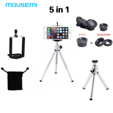 New 5in1 Lens Octopus Tripod & 12x lens & 3in1 lens include Fisheye 0.67x wide Macro lens for iPhone Samsung HTC Lenovo Lenses