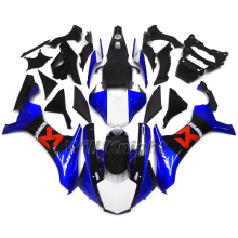 For Yahama YZF1000 YZF R1 2015 2016 ABS Injection Molding Motorcyce Fairing Kit Blue Black