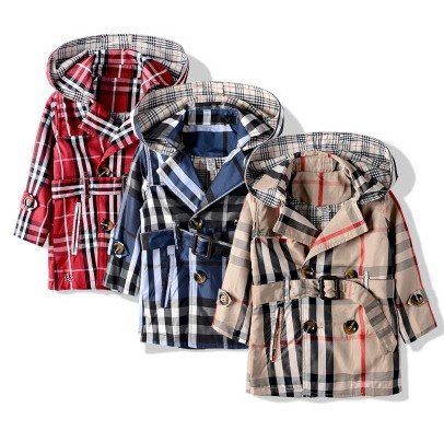 Fashion childrens clothing windbreaker for girl autumn and winter trench outerwear trench coats  FREE SHIPPING<br><br>Aliexpress