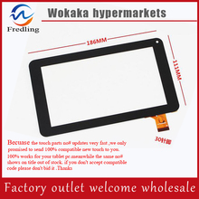 "New Touch Screen Panel Digitizer Glass Sensor Replacement For 7"" Tesla Magnet 7.0 IPS Tablet Free Shipping(China)"