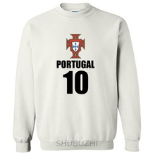 Portugal nation team hoodies men sweatshirt sweat new hip hop streetwear socceres jersey footballer tracksuit Portuguese flag(China)