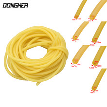 1M Natural Latex Slingshots Rubber Tube Bow Rubber Band Catapult Elastic Part Shooting Bow Accessories 3x5 2x5.5 2x4 4x6 1.7x4.5